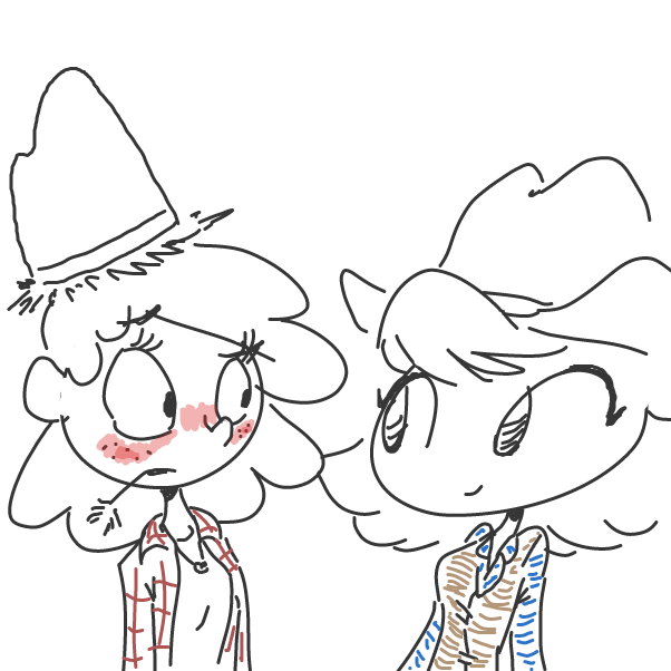 Drawing in yeehaw by Sasha_Cakes
