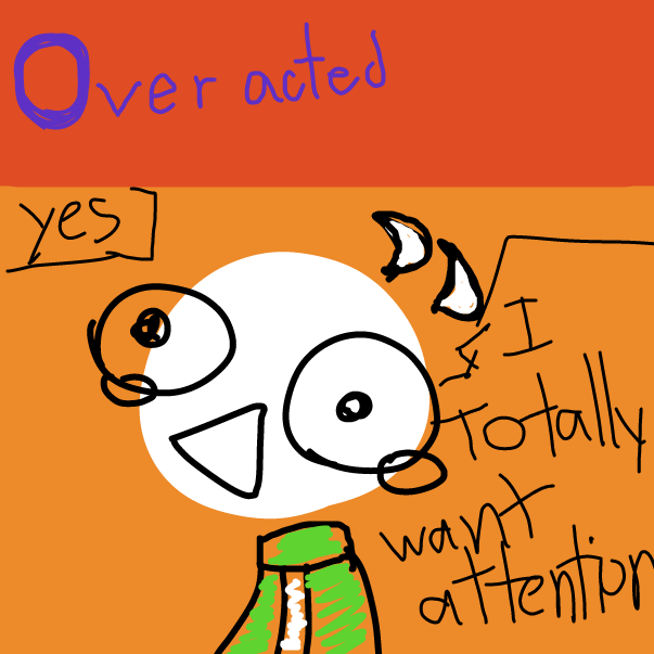 First panel in yes.... i am O K A Y drawn in our free online drawing game