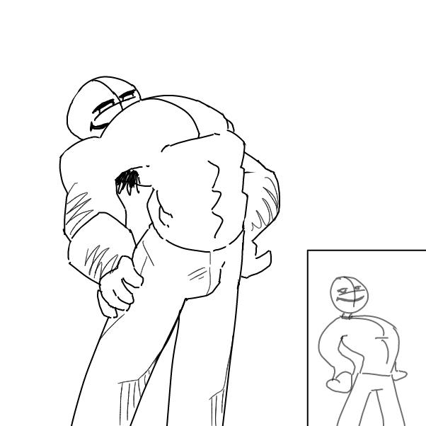 Drawing in exaggeration by Kawaita