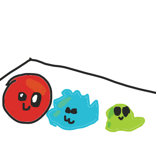 Drawing in Blob 2 by Drawception guy
