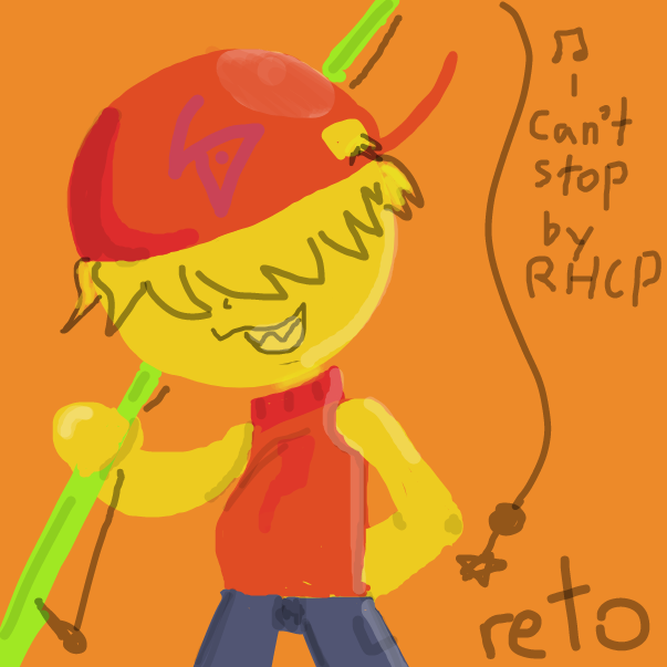 can't stop - Red Hot Chili Peppers - Online Drawing Game Comic Strip Panel by FifaSam