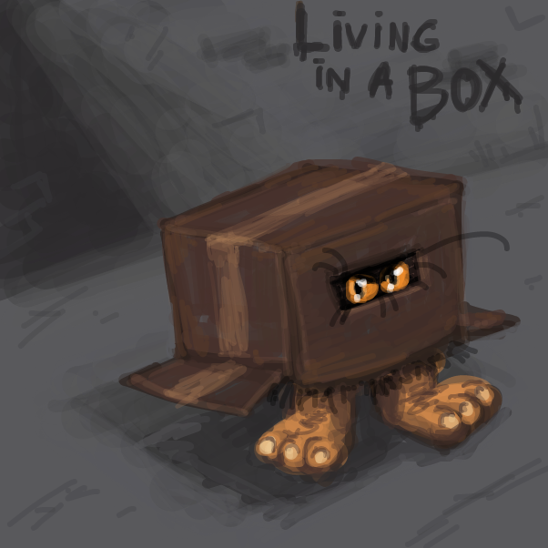 by Living in a Box - Online Drawing Game Comic Strip Panel by Peyocay