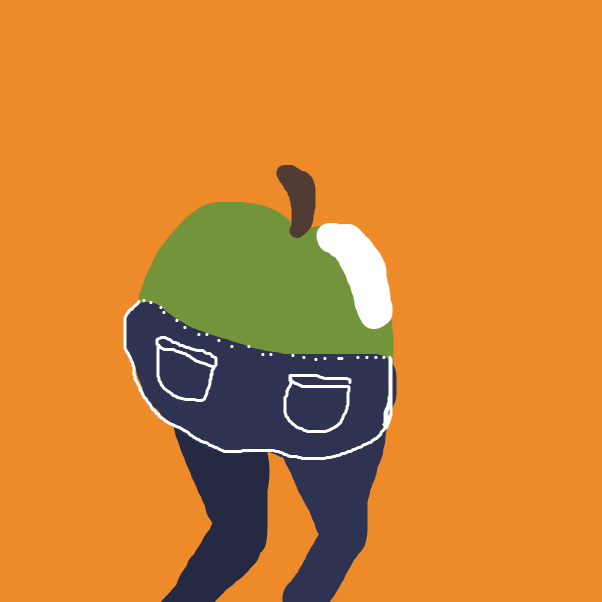 Drawing in Apple Bottom jeans by Just Alex