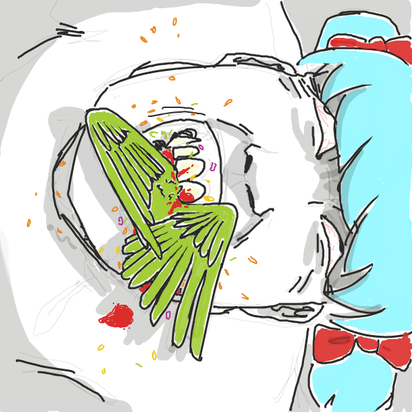 Drawing in Birdfood by ironically horny