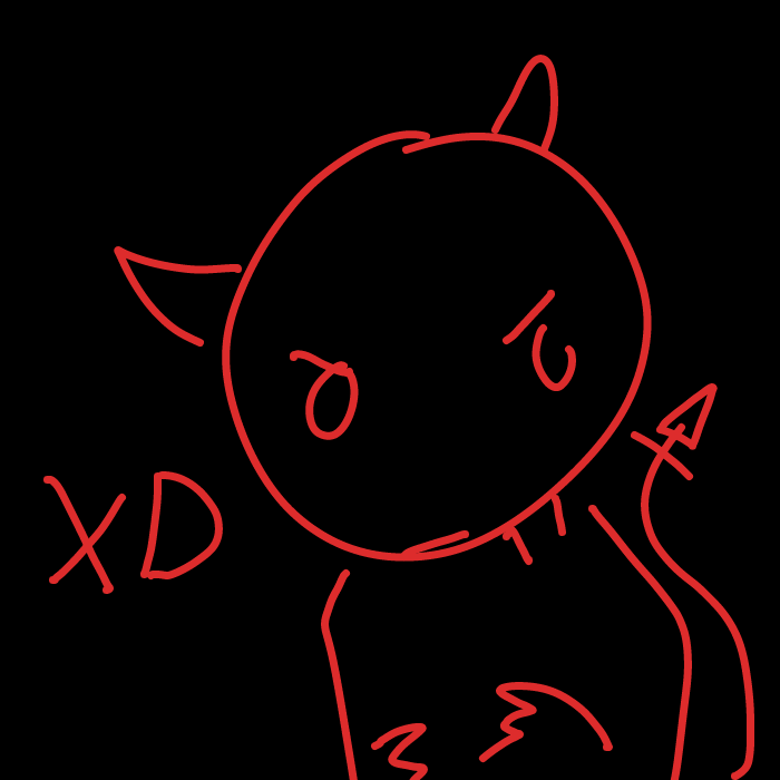 First panel in XD drawn in our free online drawing game