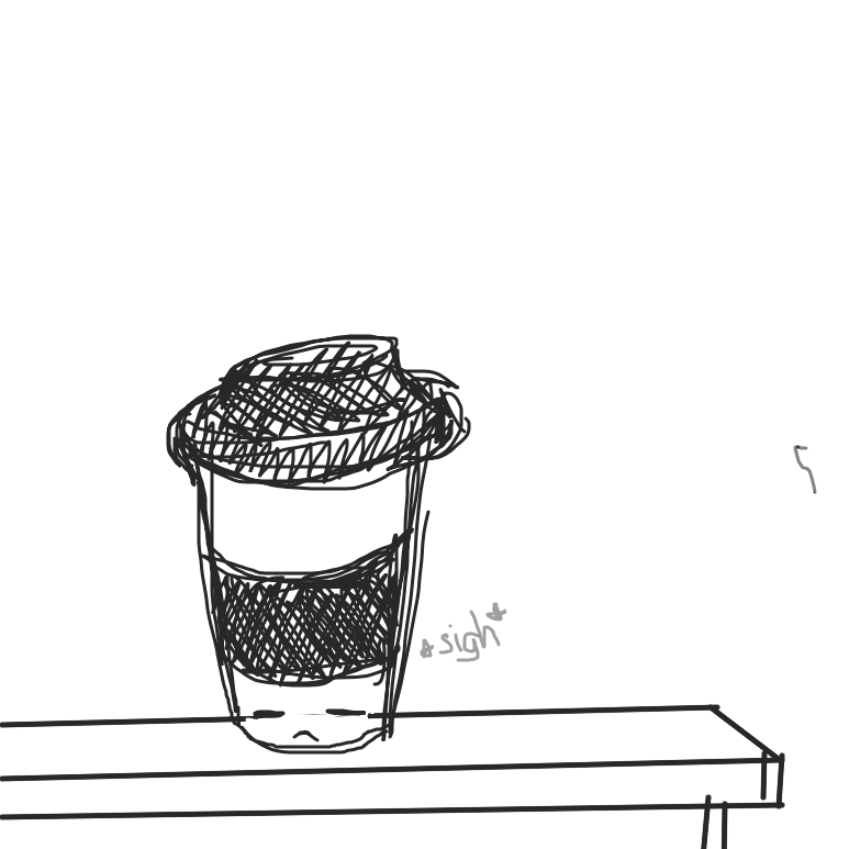 Liked webcomic Coffee
