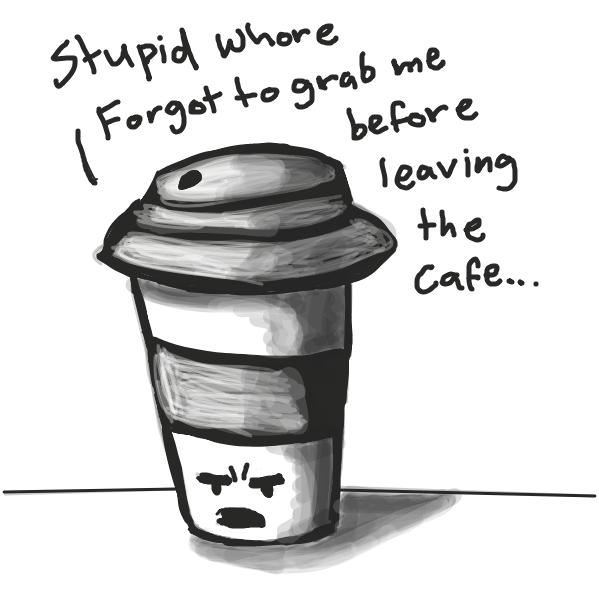 Drawing in Coffee by Loco-L
