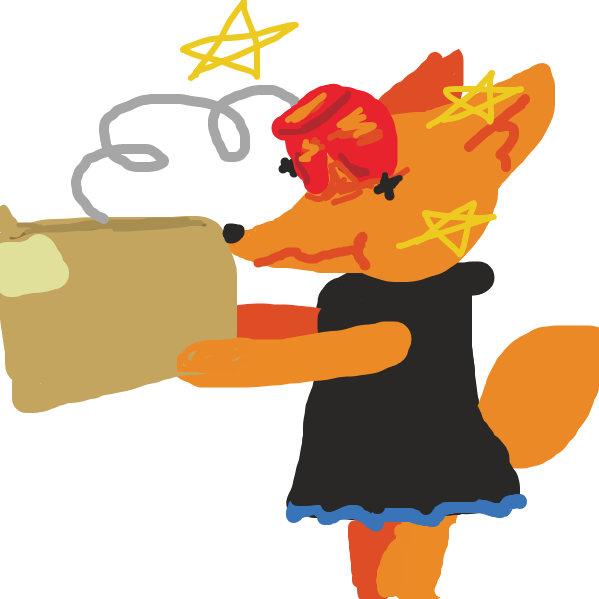 Drawing in Fox and Box by Deduraptor