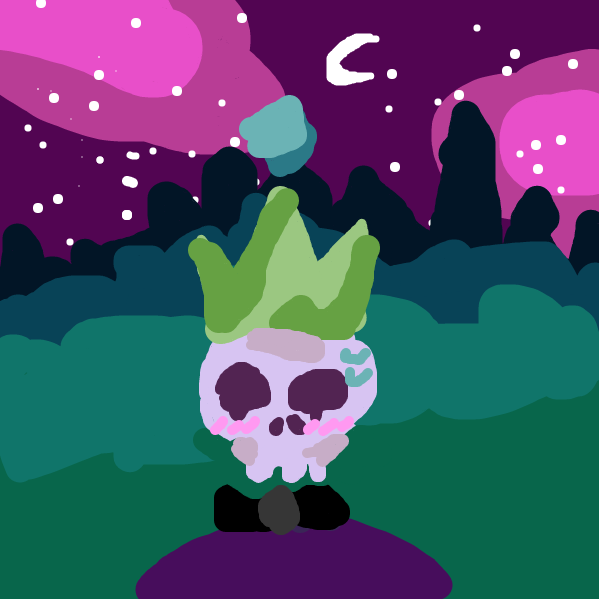 but the only thing the king really wanted was love <3  - Online Drawing Game Comic Strip Panel by It's_detergent