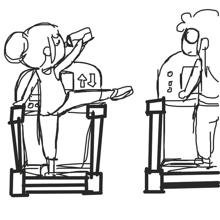 - Online Drawing Game Comic Strip Panel by Juleefish