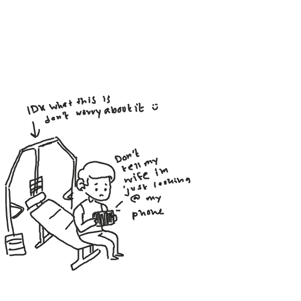Drawing in People at the gym be like... by y3liak