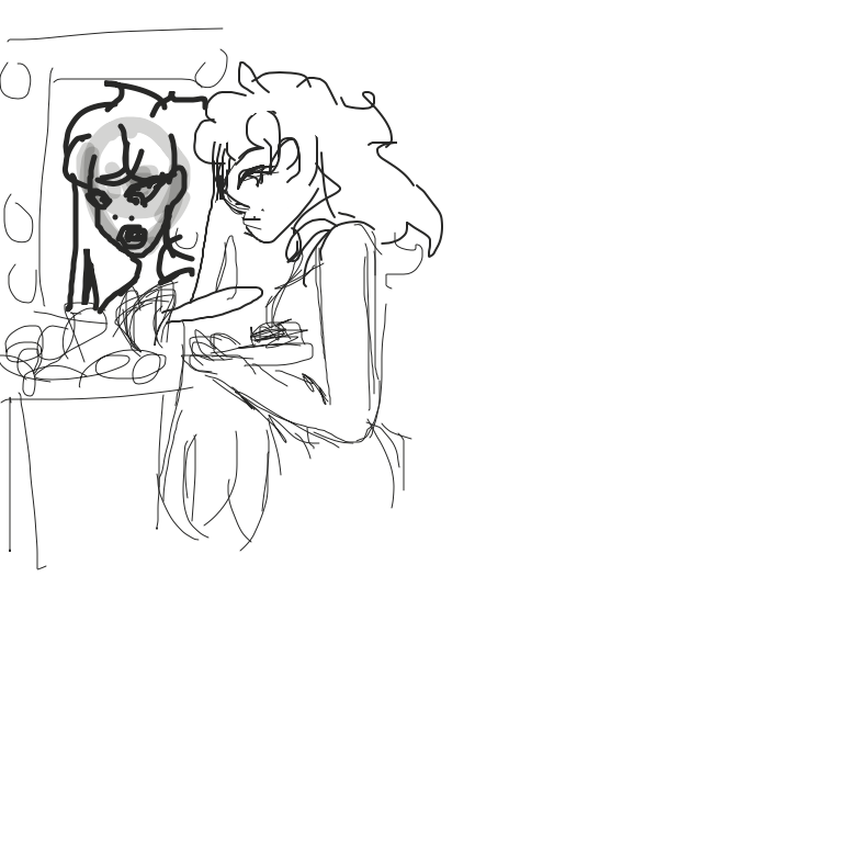 Some serious workkk - Online Drawing Game Comic Strip Panel by Starfang