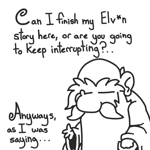 @superstar_pixie: don't over think it / try so hard. no point in getting ahead of yourself & everyone. just take it panel by panel  sorry for claiming this for so long btw ppl . . . was having 2nd thoughts about it for weeks  @aesthetic bagel: whoa, dood! - Online Drawing Game Comic Strip Panel by Sho-bo