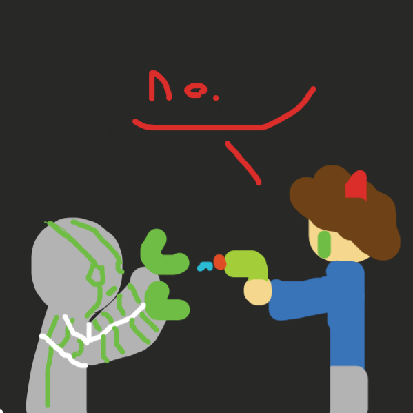 bad robot - Online Drawing Game Comic Strip Panel by ripart