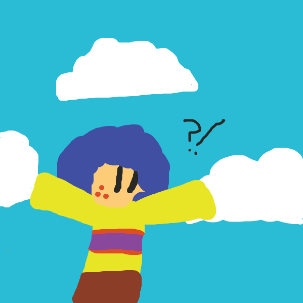 Wait, THAT WAS MY IMAGINATION?! I'm gonna die! (To be continued.) - Online Drawing Game Comic Strip Panel by TheYellowMan