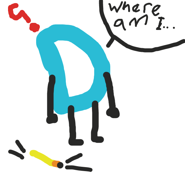 Drawing in Drawception D's Big Adventure by BrokenWatermelon