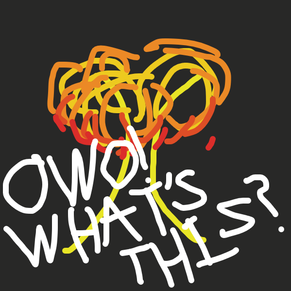 owo mushroom cloud - Online Drawing Game Comic Strip Panel by Meow the Fronk