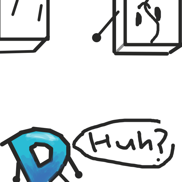 Drawing in Drawception D's Big Adventure by The Green Flame