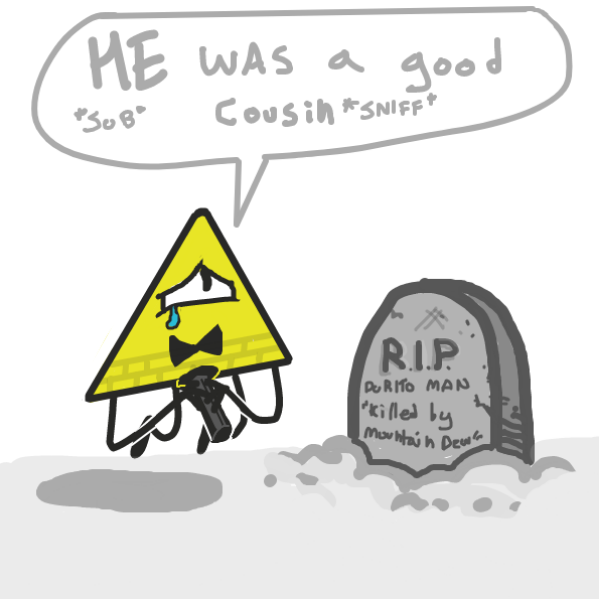 rip dorito man panels 1-3 - Online Drawing Game Comic Strip Panel by DewyBob12