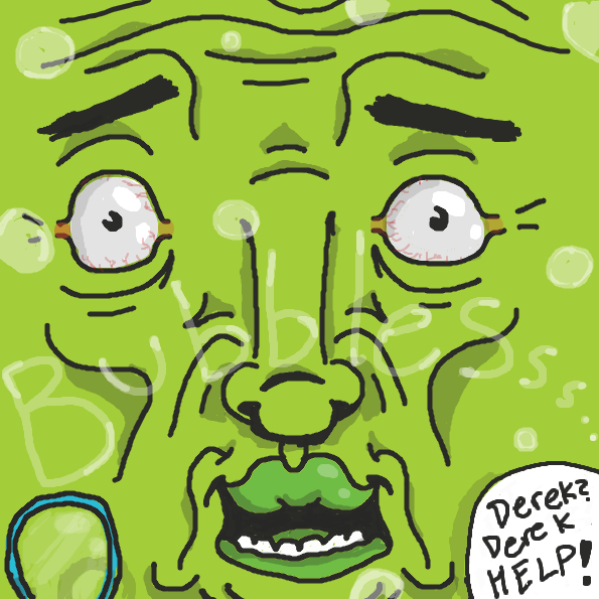 Bubbbblleeeessss - Online Drawing Game Comic Strip Panel by xavvypls
