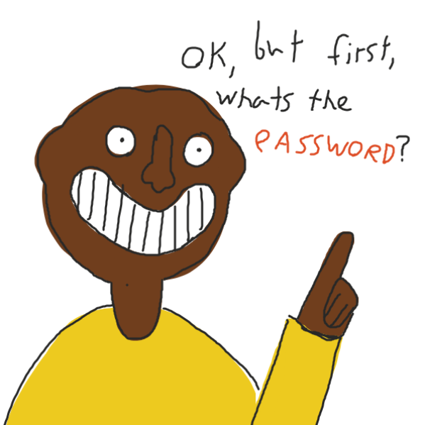 Drawing in Password by Been13