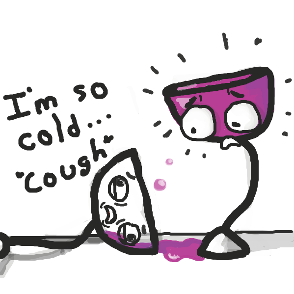 Wine-o is going toward the light.  - Online Drawing Game Comic Strip Panel by Trilliumdude