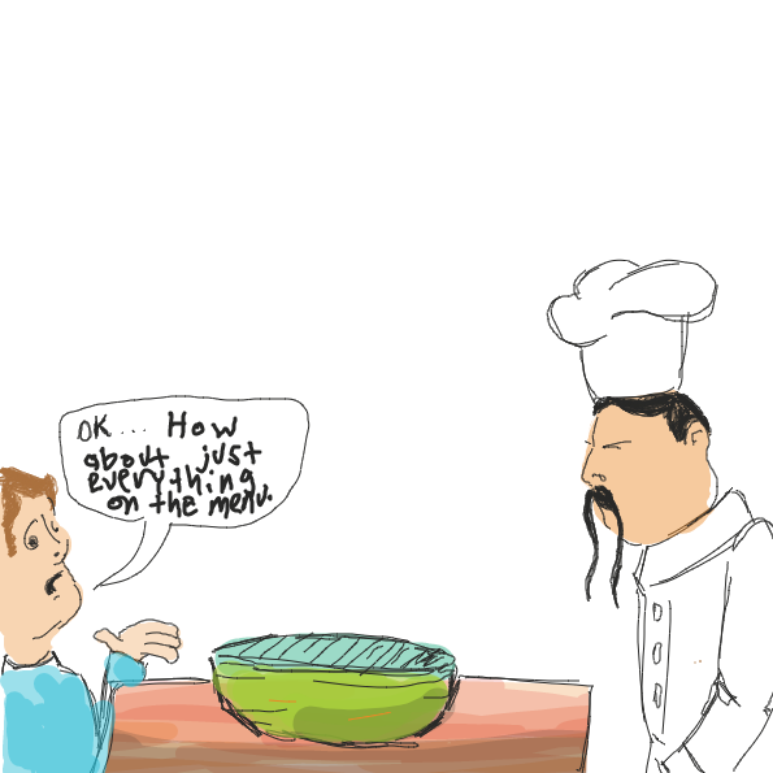 Drawing in Bowl of... by WizardCroissant