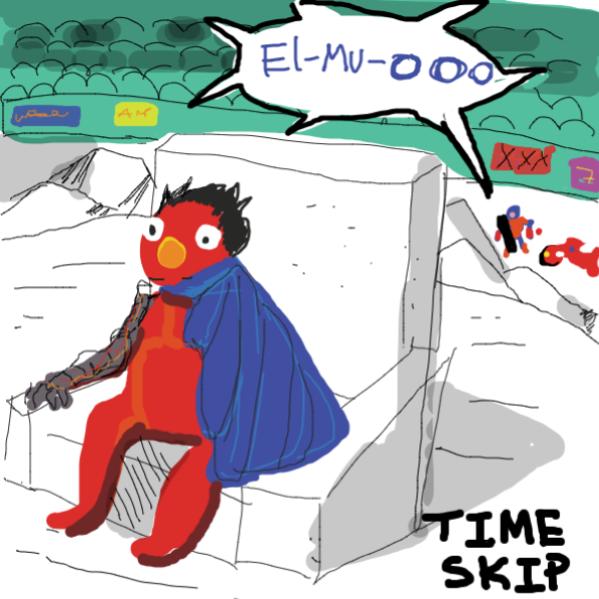 AKIRA  - Online Drawing Game Comic Strip Panel by kurocartoonist