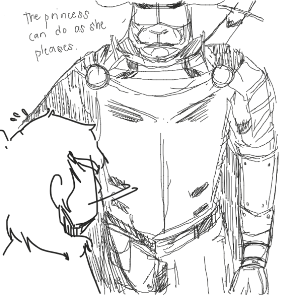 A Knight?!! - Online Drawing Game Comic Strip Panel