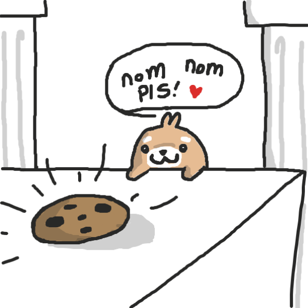 Hamster wants nom nom snack time! - Online Drawing Game Comic Strip Panel