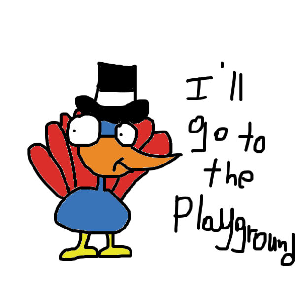 Liked webcomic GlouGlou the Turkey Bird and the Playground