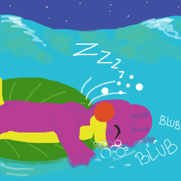 Oh no, he fell asleep.. - Online Drawing Game Comic Strip Panel by Ramora