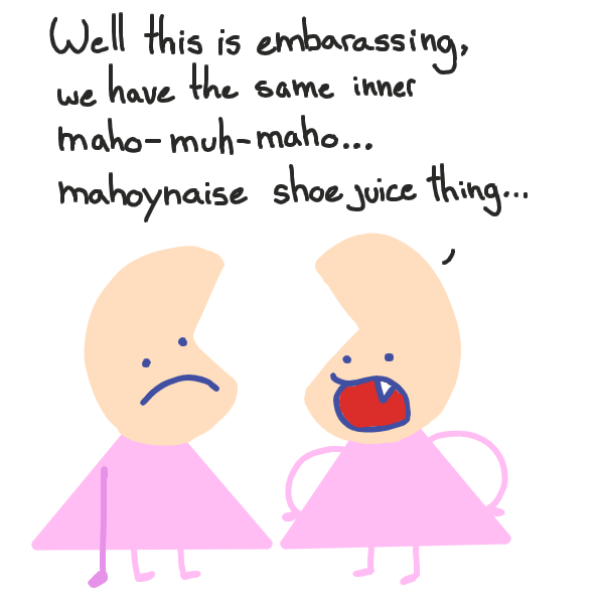 why not just say 'magical girl' ?  :I - Online Drawing Game Comic Strip Panel by Cake Emoji
