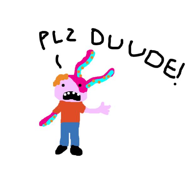Drawing in Octopus #1 by joshyouart
