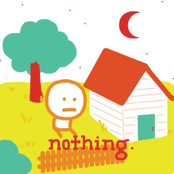 First panel in Procrastination drawn in our free online drawing game