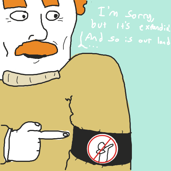 uh oh he's a dab-nazi - Online Drawing Game Comic Strip Panel