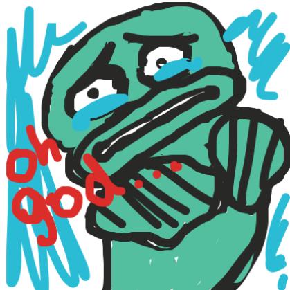 so sad - Online Drawing Game Comic Strip Panel by bags o' teeth