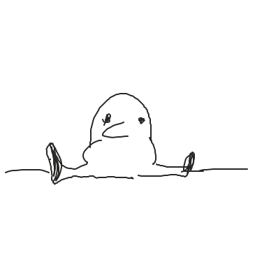 Killydiddly doo sits on the ground. - Online Drawing Game Comic Strip Panel by Hina the Meme-ma