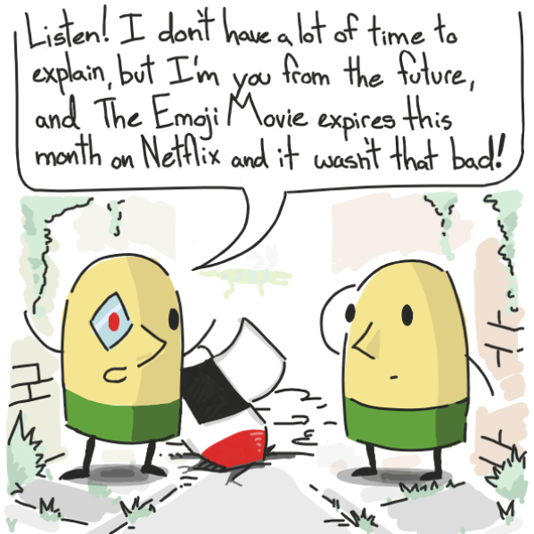 . . . well it wasn't.  - Online Drawing Game Comic Strip Panel by Cake Emoji