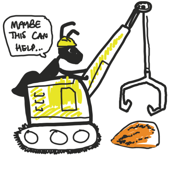 archibald brings in some heavy machinery - Online Drawing Game Comic Strip Panel by Southern Boulevard