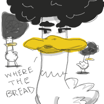Liked webcomic Afro Duck