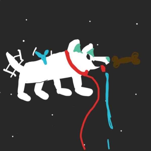 Good boy. - Online Drawing Game Comic Strip Panel by hilaom
