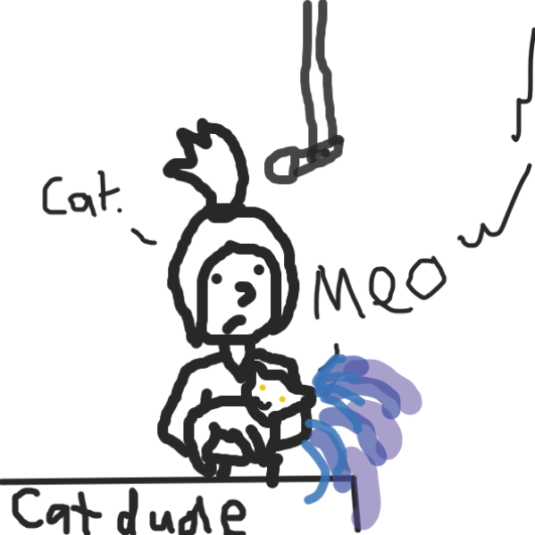 cat           cat - Online Drawing Game Comic Strip Panel by Meow the Fronk
