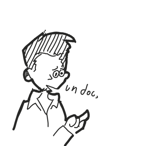 ''uh doc'' u just gotta continue what he gona say next - Online Drawing Game Comic Strip Panel