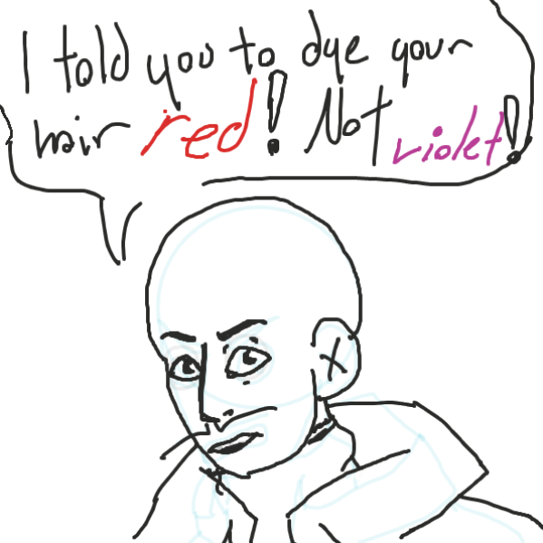 Sasha didn't do as he said! - Online Drawing Game Comic Strip Panel by Sirius Solemn
