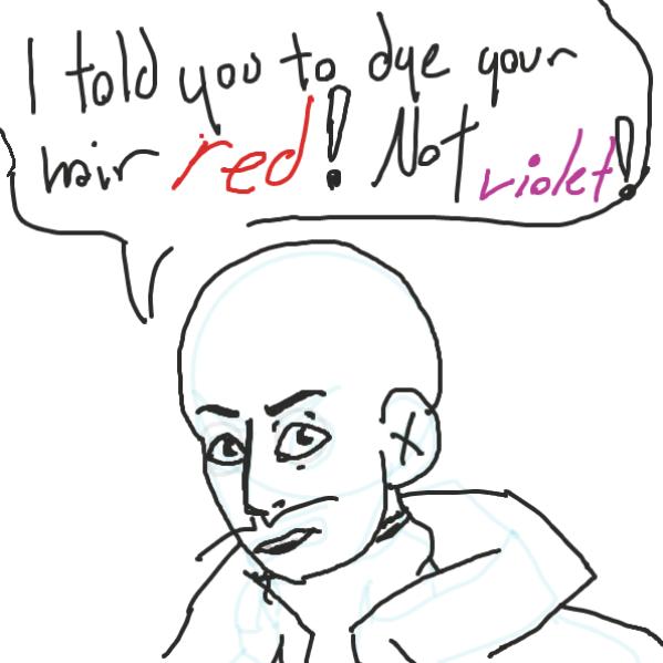 Sasha didn't do as he said! - Online Drawing Game Comic Strip Panel