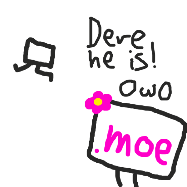 Drawing in .it by Meow the Fronk