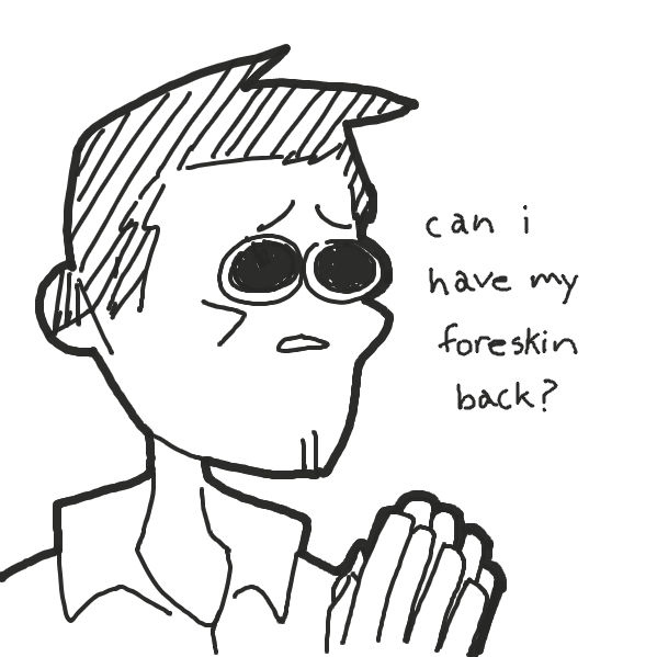 """""""sorry but you gotta ask the rabbi for that"""" - Online Drawing Game Comic Strip Panel"""