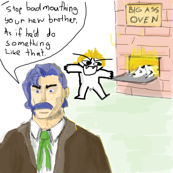 Dio did nothing wrong - Online Drawing Game Comic Strip Panel by Robro