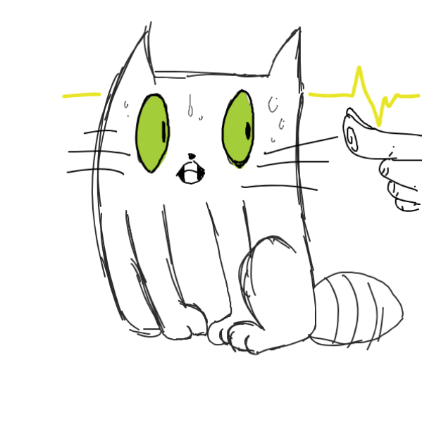 Drawing in Cat by Aesthetic Bagel